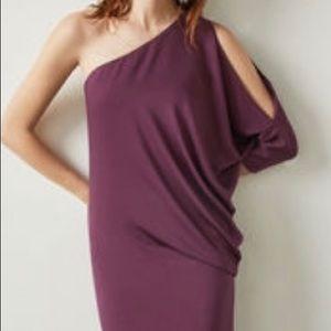 NWT! BCBG Maxazria Burgundy Formal gown